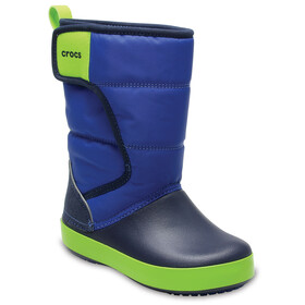 Crocs LodgePoint Snow Boot Kids Blue Jean/Navy
